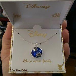 Disney Lilo & Stitch fine jewelry Ohana necklace